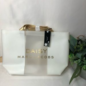 Daisy Marc Jacobs clear tote